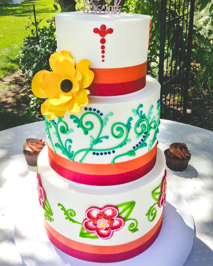 Corina Bakery Wedding Cakes
